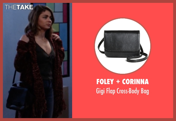 Foley + Corinna black bag from Modern Family seen with Haley Dunphy (Sarah Hyland)