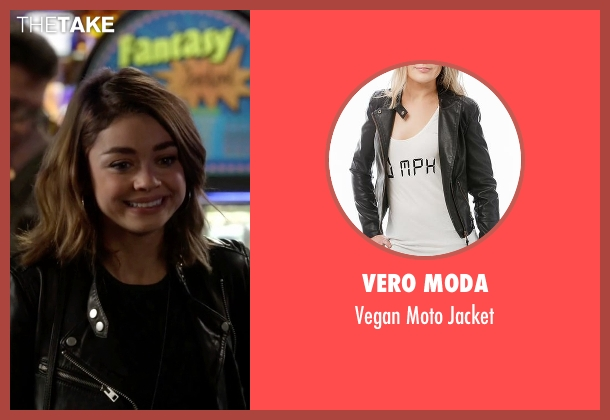 Vero Moda black jacket from Modern Family seen with Haley Dunphy (Sarah Hyland)