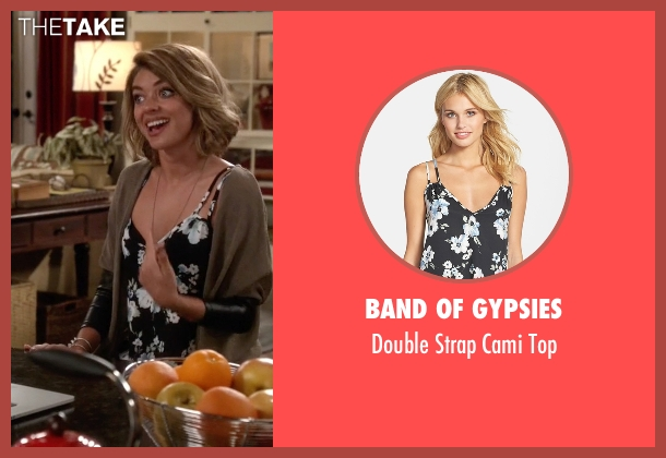 Band of Gypsies black top from Modern Family seen with Haley Dunphy (Sarah Hyland)