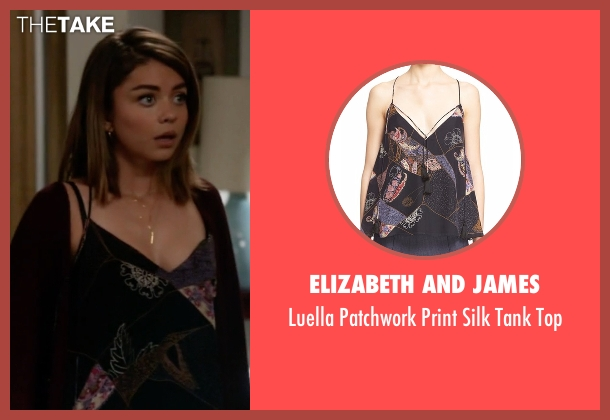 Elizabeth And James black top from Modern Family seen with Haley Dunphy (Sarah Hyland)
