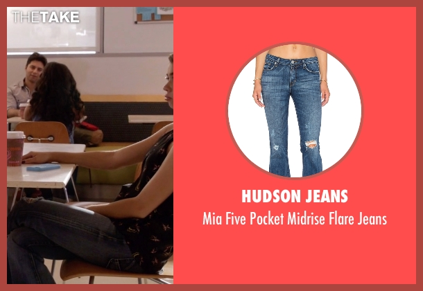 Hudson Jeans blue jeans from Modern Family seen with Haley Dunphy (Sarah Hyland)