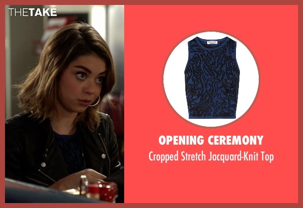 Opening Ceremony blue top from Modern Family seen with Haley Dunphy (Sarah Hyland)