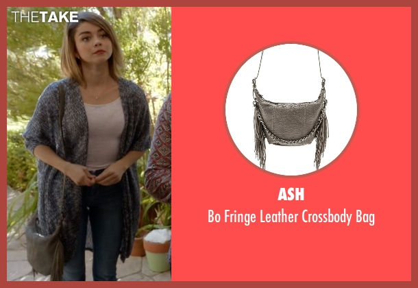 Ash gray bag from Modern Family seen with Haley Dunphy (Sarah Hyland)