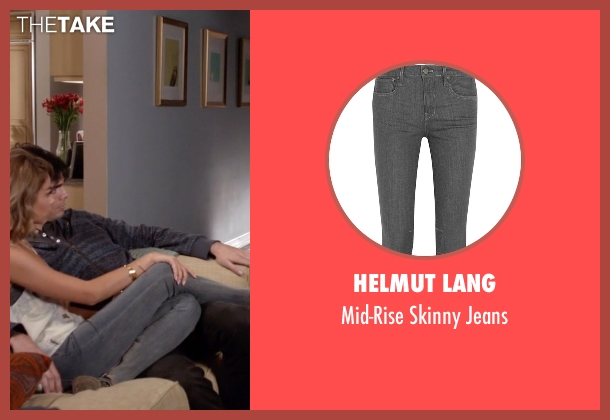 Helmut Lang gray jeans from Modern Family seen with Haley Dunphy (Sarah Hyland)