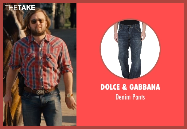 Dolce & Gabbana blue pants from Entourage seen with Haley Joel Osment (Travis)