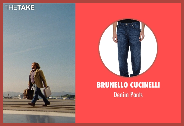 Brunello Cucinelli blue pants from Entourage seen with Haley Joel Osment (Travis)