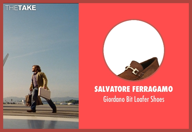 Salvatore Ferragamo brown shoes from Entourage seen with Haley Joel Osment (Travis)