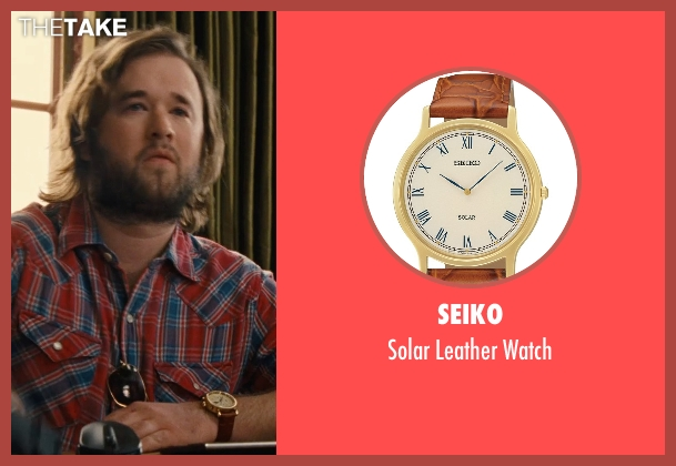 Seiko brown watch from Entourage seen with Haley Joel Osment (Travis)