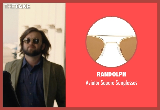 Randolph gold sunglasses from Entourage seen with Haley Joel Osment (Travis)