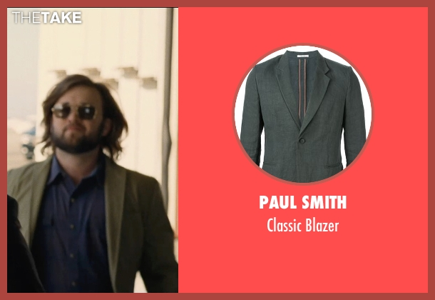Paul Smith green blazer from Entourage seen with Haley Joel Osment (Travis)