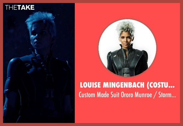 Louise Mingenbach (Costume Designer) costume from X-Men: Days of Future Past seen with Halle Berry (Ororo Munroe / Storm)