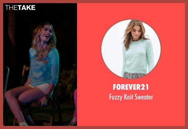 Forever21 blue sweater from Neighbors seen with Halston Sage (Brooke)