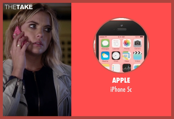 Apple 5c from Pretty Little Liars seen with Hanna Marin (Ashley Benson)