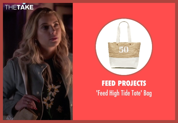 Feed Projects  beige bag from Pretty Little Liars seen with Hanna Marin (Ashley Benson)