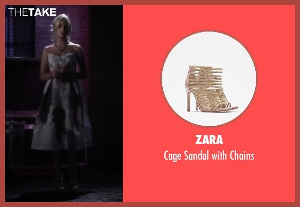 Zara beige chains from Pretty Little Liars seen with Hanna Marin (Ashley Benson)