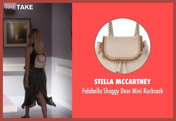 Stella Mccartney  beige rucksack from Pretty Little Liars seen with Hanna Marin (Ashley Benson)