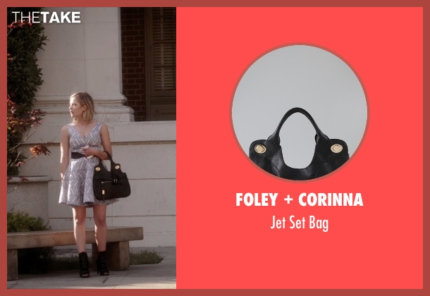 Foley + Corinna black bag from Pretty Little Liars seen with Hanna Marin (Ashley Benson)