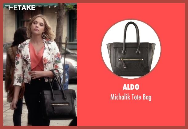 Aldo black bag from Pretty Little Liars seen with Hanna Marin (Ashley Benson)