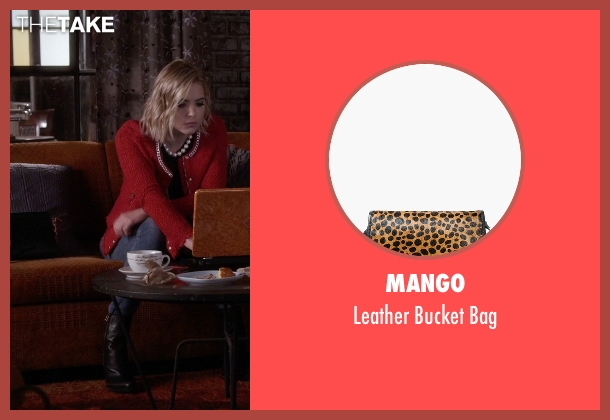 Mango black bag from Pretty Little Liars seen with Hanna Marin (Ashley Benson)
