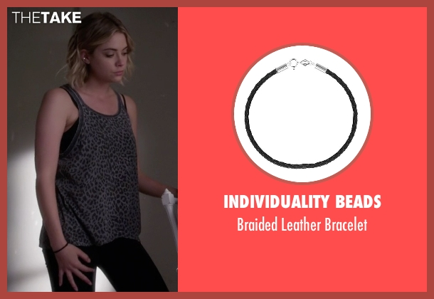 Individuality Beads black bracelet from Pretty Little Liars seen with Hanna Marin (Ashley Benson)