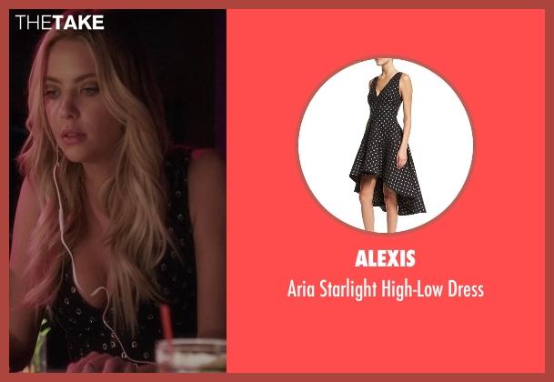 Alexis black dress from Pretty Little Liars seen with Hanna Marin (Ashley Benson)