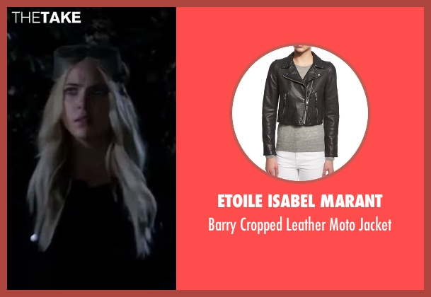 Etoile Isabel Marant black jacket from Pretty Little Liars seen with Hanna Marin (Ashley Benson)