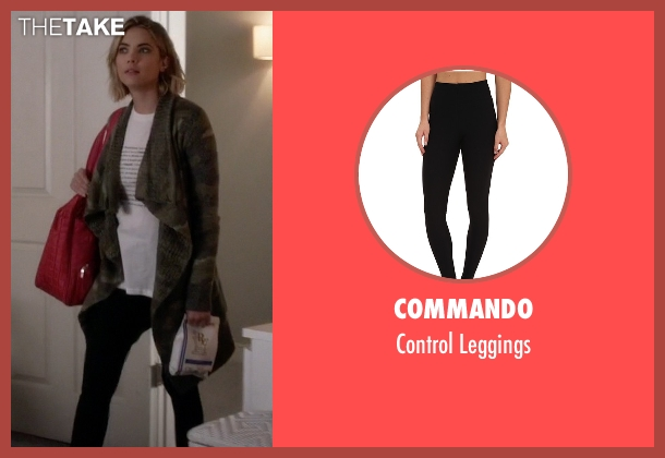 Commando black leggings from Pretty Little Liars seen with Hanna Marin (Ashley Benson)