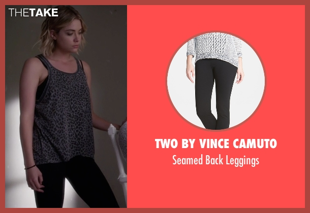 Two by Vince Camuto black leggings from Pretty Little Liars seen with Hanna Marin (Ashley Benson)