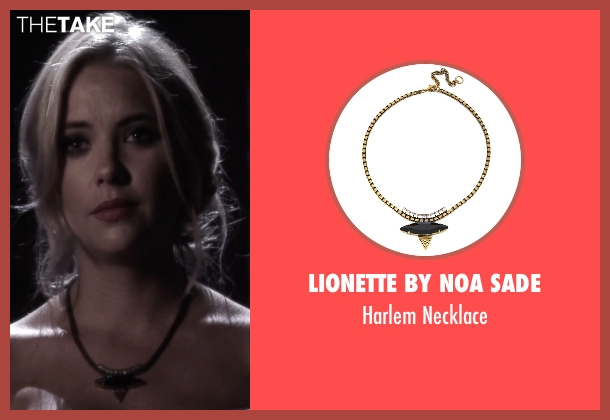 Lionette By Noa Sade  black necklace from Pretty Little Liars seen with Hanna Marin (Ashley Benson)