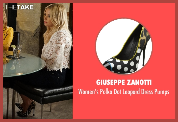 Giuseppe Zanotti  black pumps from Pretty Little Liars seen with Hanna Marin (Ashley Benson)