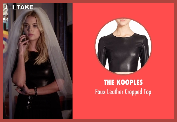 The Kooples black top from Pretty Little Liars seen with Hanna Marin (Ashley Benson)