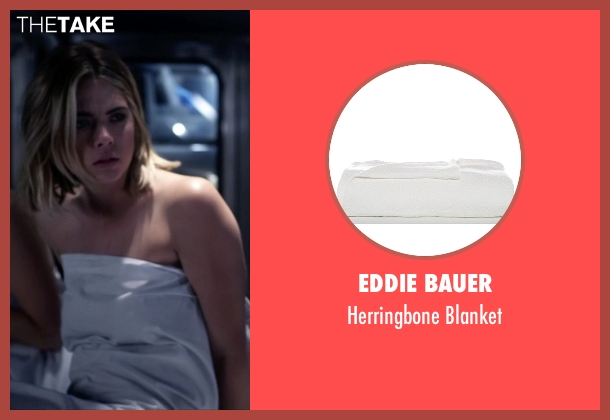 Eddie Bauer blanket from Pretty Little Liars seen with Hanna Marin (Ashley Benson)