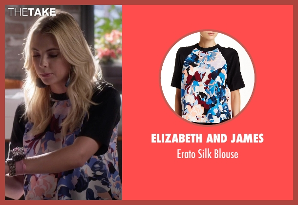 Elizabeth and James  blouse from Pretty Little Liars seen with Hanna Marin (Ashley Benson)
