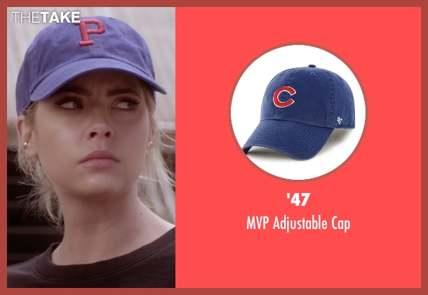 '47 blue cap from Pretty Little Liars seen with Hanna Marin (Ashley Benson)