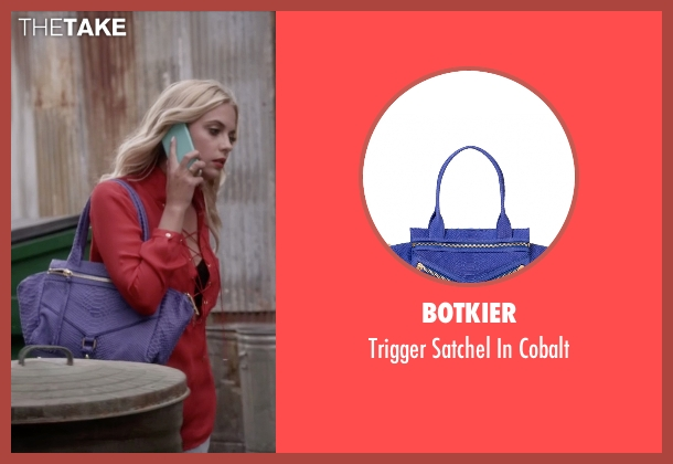 Botkier blue cobalt from Pretty Little Liars seen with Hanna Marin (Ashley Benson)
