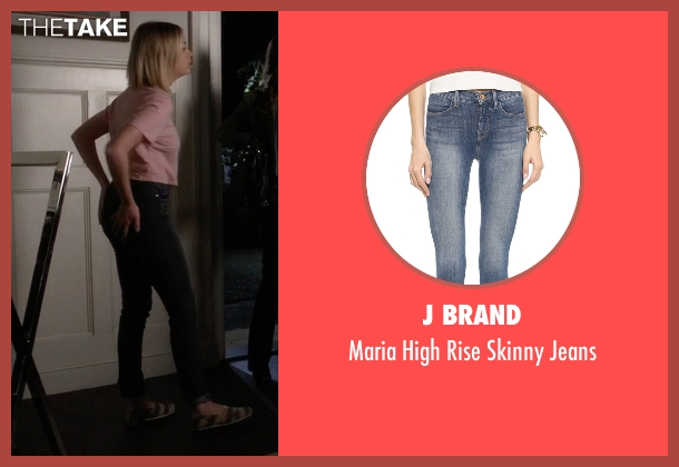 J Brand blue jeans from Pretty Little Liars seen with Hanna Marin (Ashley Benson)