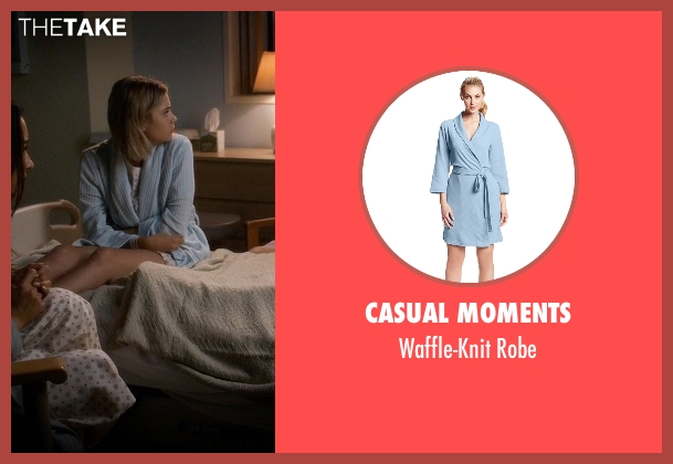 Casual Moments blue robe from Pretty Little Liars seen with Hanna Marin (Ashley Benson)