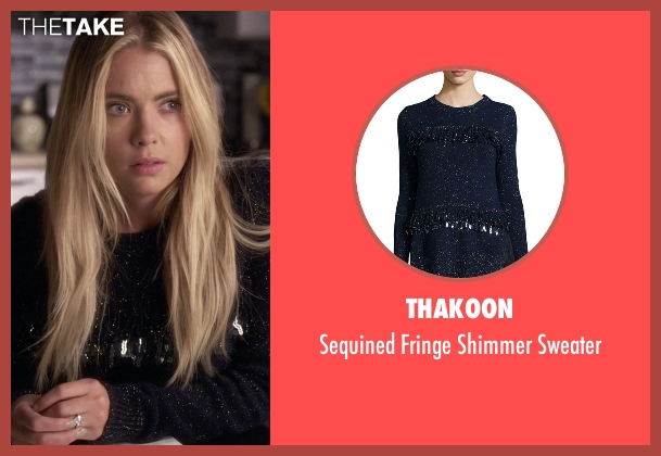 Thakoon blue sweater from Pretty Little Liars seen with Hanna Marin (Ashley Benson)