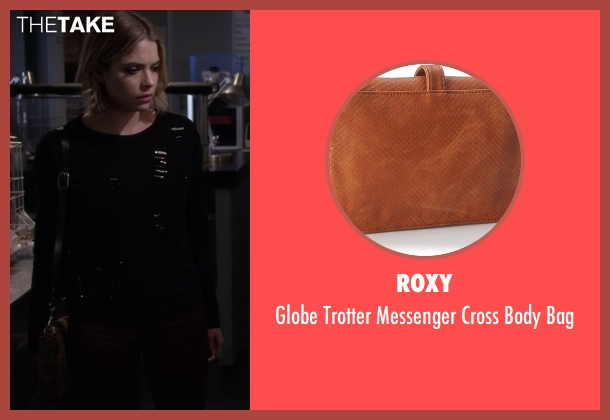 Roxy brown bag from Pretty Little Liars seen with Hanna Marin (Ashley Benson)