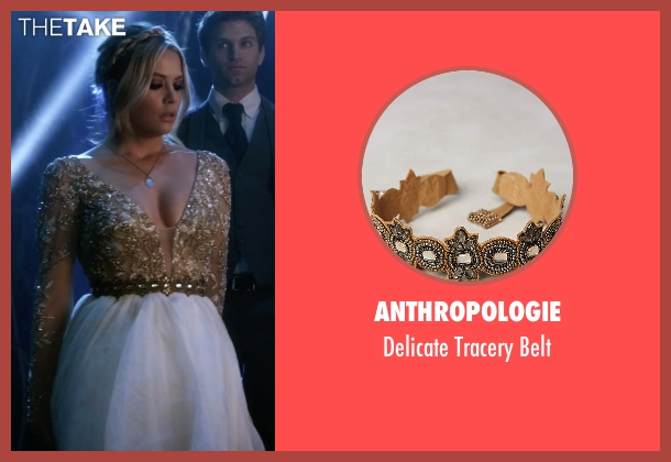 Anthropologie brown belt from Pretty Little Liars seen with Hanna Marin (Ashley Benson)