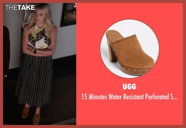 UGG  brown clog from Pretty Little Liars seen with Hanna Marin (Ashley Benson)