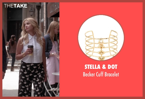 Stella & Dot gold bracelet from Pretty Little Liars seen with Hanna Marin (Ashley Benson)