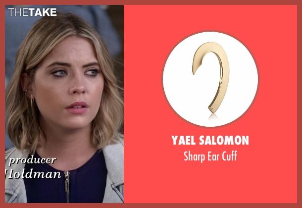 Yael Salomon gold cuff from Pretty Little Liars seen with Hanna Marin (Ashley Benson)