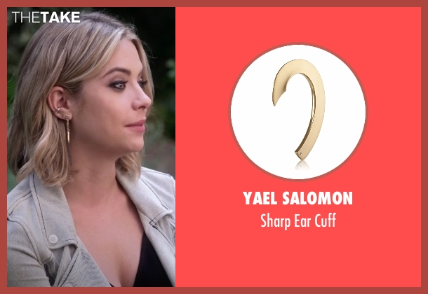 Yael Salomon gold cuff from Pretty Little Liars seen with Hanna Marin (Ashley Benson)
