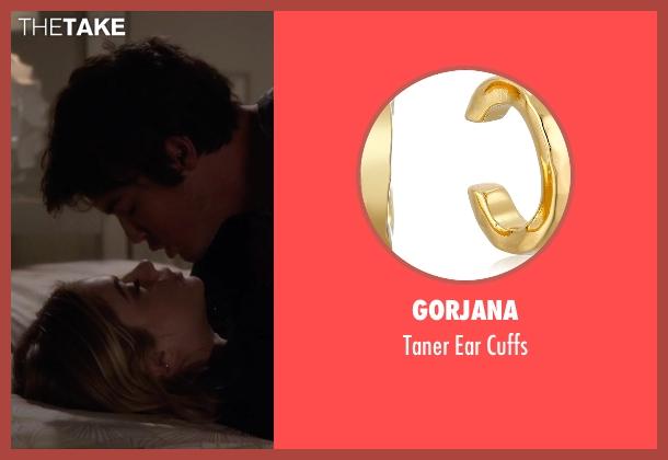 Gorjana gold cuffs from Pretty Little Liars seen with Hanna Marin (Ashley Benson)