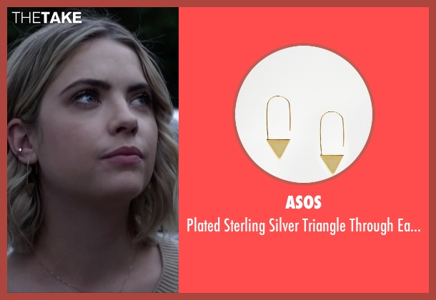 Asos gold earrings from Pretty Little Liars seen with Hanna Marin (Ashley Benson)