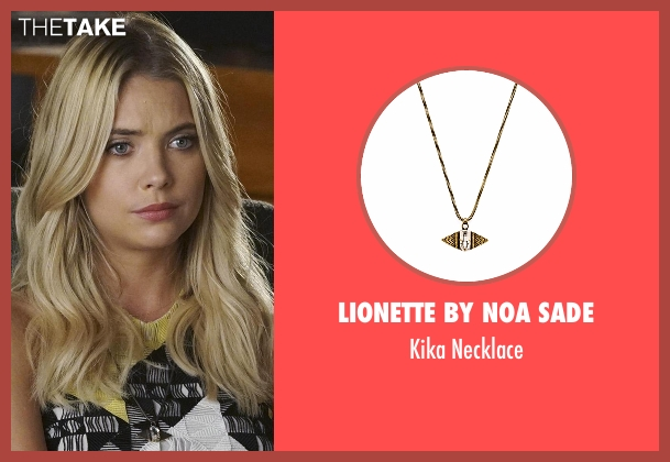 Lionette By Noa Sade gold necklace from Pretty Little Liars seen with Hanna Marin (Ashley Benson)