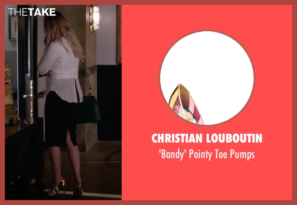Christian Louboutin pumps from Pretty Little Liars seen with Hanna Marin (Ashley Benson)