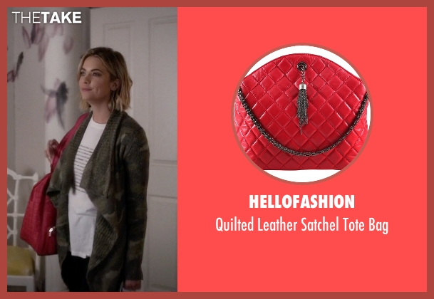 Hellofashion red bag from Pretty Little Liars seen with Hanna Marin (Ashley Benson)