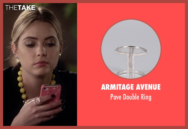 Armitage Avenue silver ring from Pretty Little Liars seen with Hanna Marin (Ashley Benson)